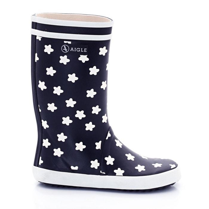 Bottes de pluie lolly pop print imprimé étoile fond marine Aigle