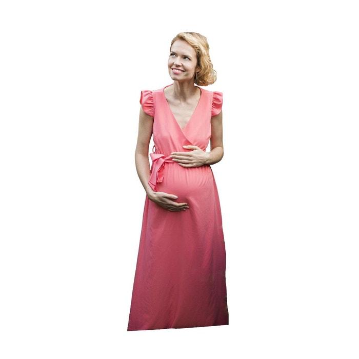 bcbe38abb198f Robe de grossesse à volants boheme Neuvieme Ciel   La Redoute