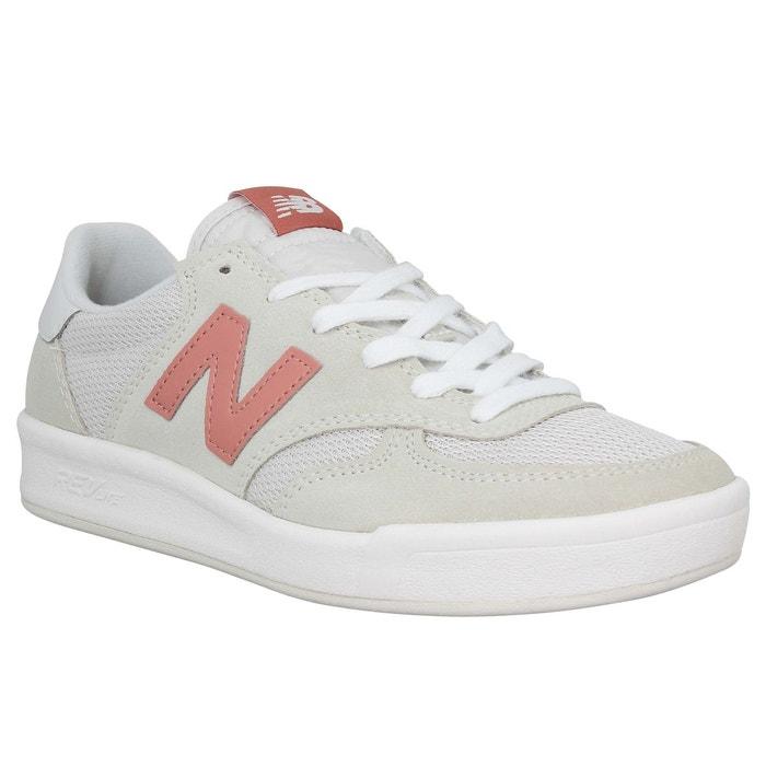 Baskets femme new balance wrt300 velours toile femme blanc blanc New Balance