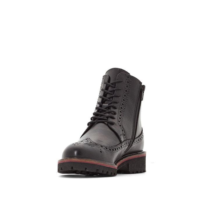 Redoute Noir Rumba Kickers Cuir Boots La w0CqaZX