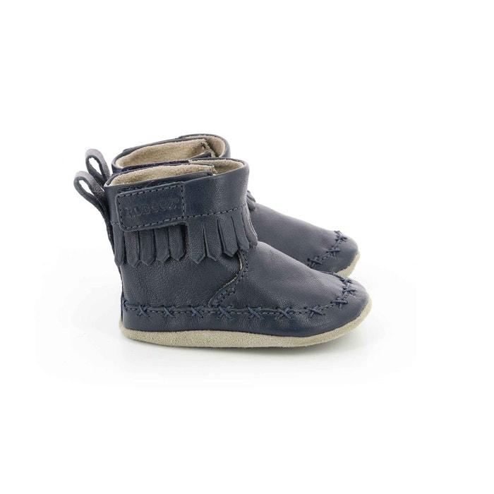 nouveau concept bcf39 ae172 Chausson Cuir Bébé Funky Shoe