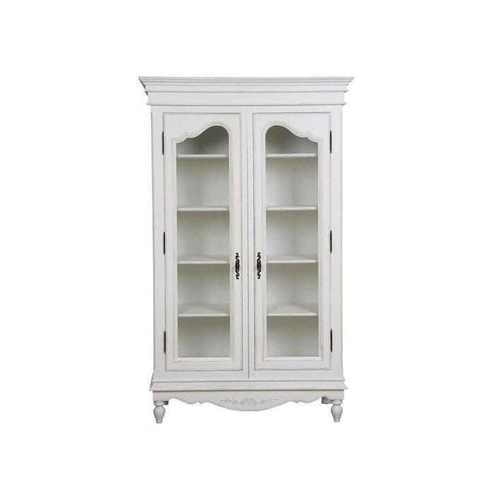 vitrine 2 portes blanc interior s la redoute. Black Bedroom Furniture Sets. Home Design Ideas