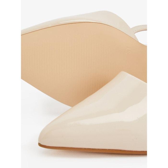 Sandales bout en amande Bianco