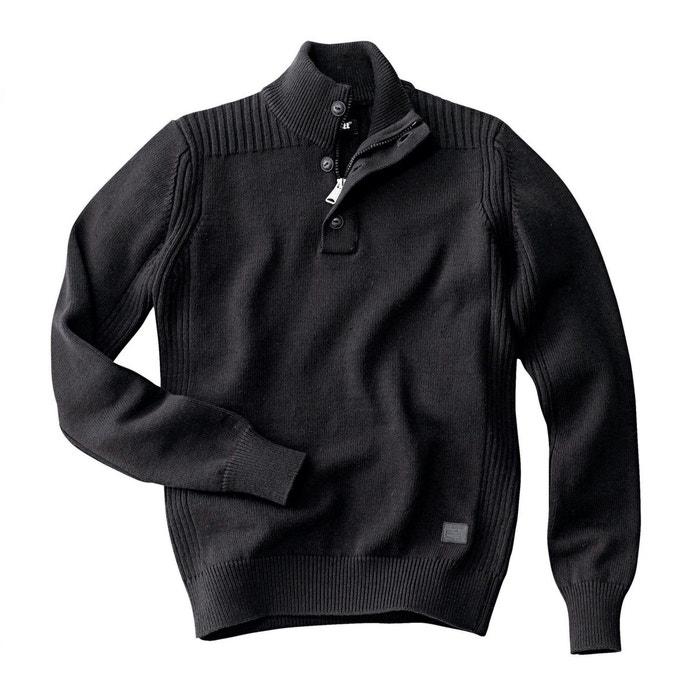 SCHOTT alto Jersey cuello alto SCHOTT con cuello Jersey SCHOTT Jersey con gAEqq
