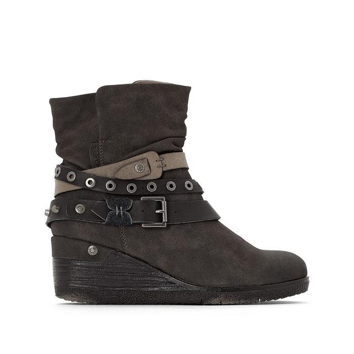 Compensées La Boots Coolway Redoute Gwen Noir UAnvxYq