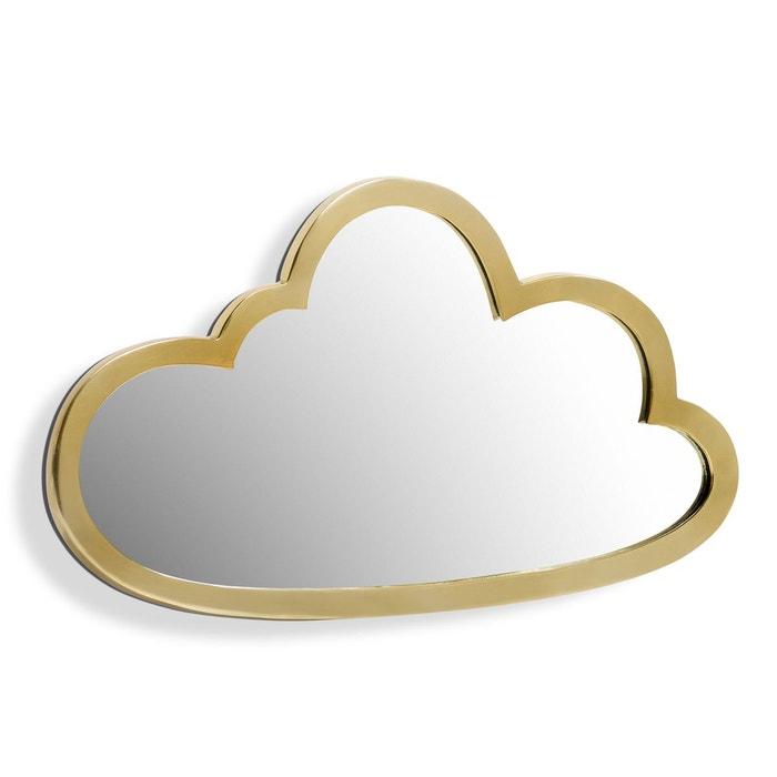 miroir nuage laiton l45 x h26 cm zicowi transparent am pm la redoute. Black Bedroom Furniture Sets. Home Design Ideas