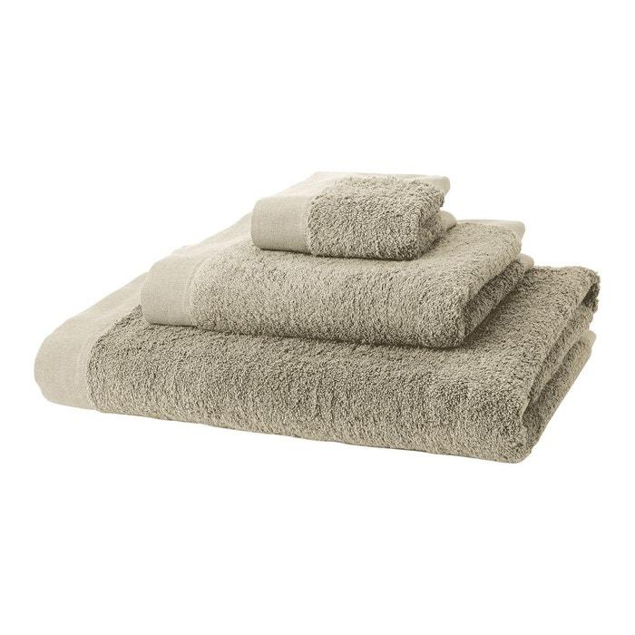 serviette de toilette avec cadre en lin aliso el corte ingles la redoute. Black Bedroom Furniture Sets. Home Design Ideas