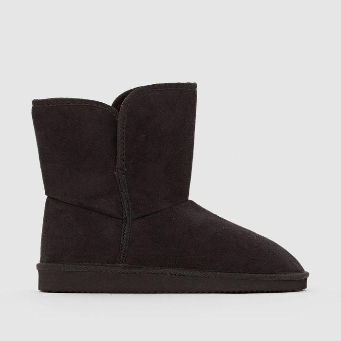 Boots fourrées - La Redoute Collections - NoirLa Redoute Collections AGzbABK