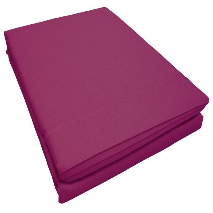 draps plats 57 fils coton collection lina douceur d 39 int rieur la redoute. Black Bedroom Furniture Sets. Home Design Ideas