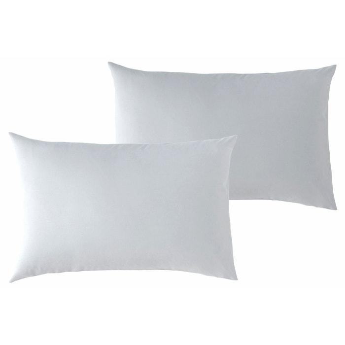 lot de 2 taies d 39 oreiller b b p 39 tit basile 40x60 cm gris perle p tit basile la redoute. Black Bedroom Furniture Sets. Home Design Ideas