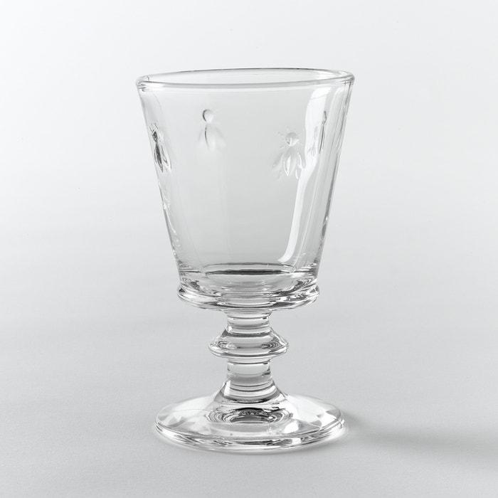 Image Verre à vin en verre, motif abeilles, lot de 6 La Redoute Interieurs