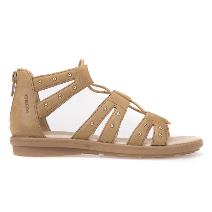 Sandali da gladiatore pelle J SANDAL MILK C  GEOX image 0