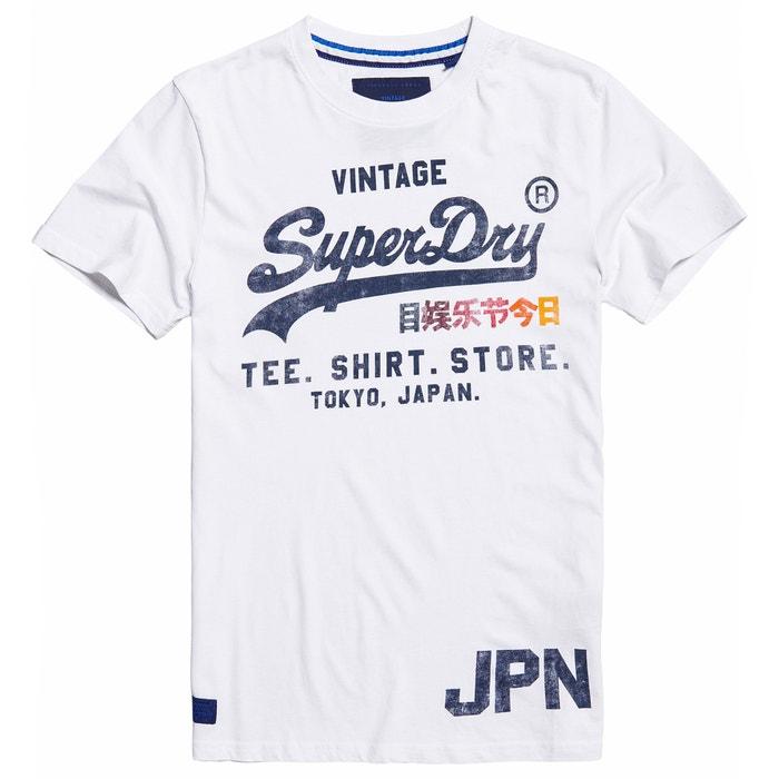 afbeelding T-shirt met ronde hals en korte mouwen SUPERDRY