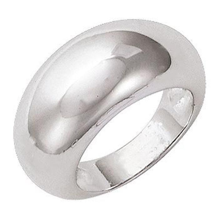 Bague anneau bombé large argent 925 couleur unique So Chic Bijoux | La Redoute De Gros Réduction Profiter Kxx3Wk