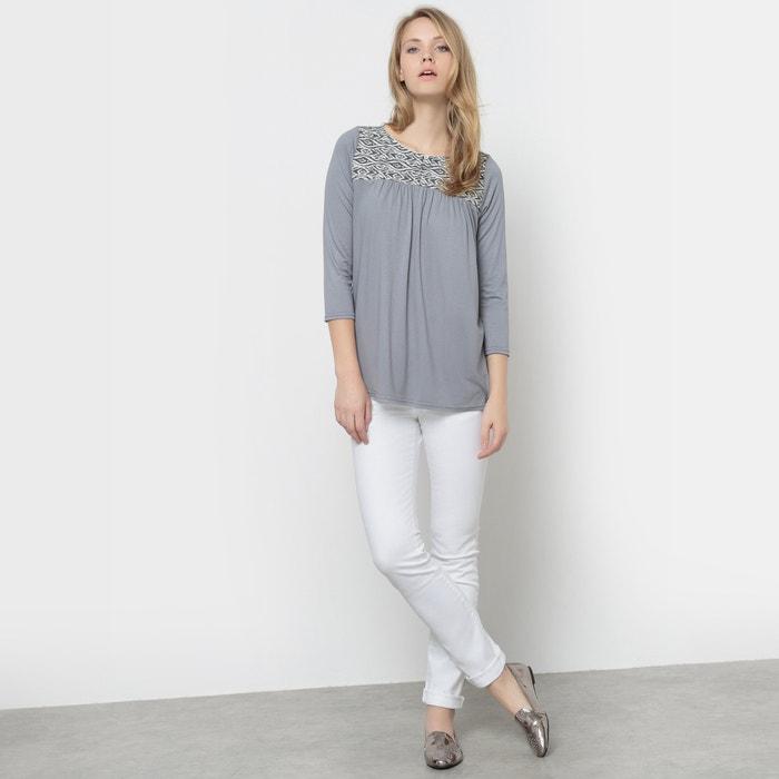 243;n La plastr jacquard Camiseta con Redoute Collections n664q8P