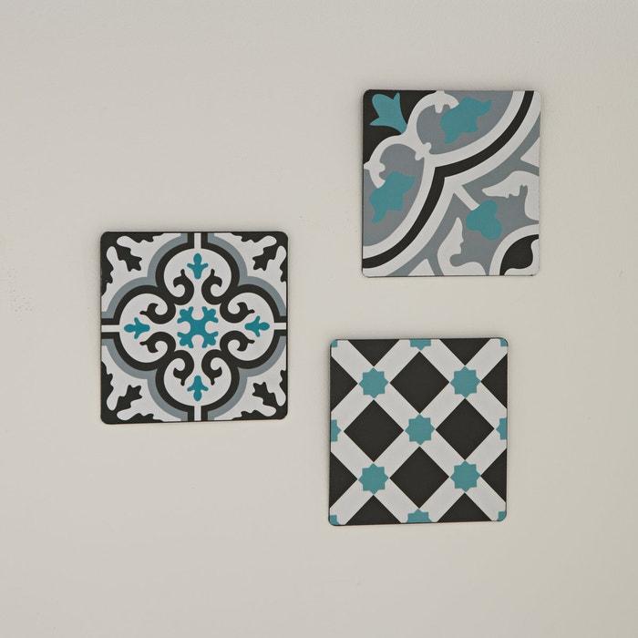 Image Pack of 3 Adid Decorative Plaques La Redoute Interieurs