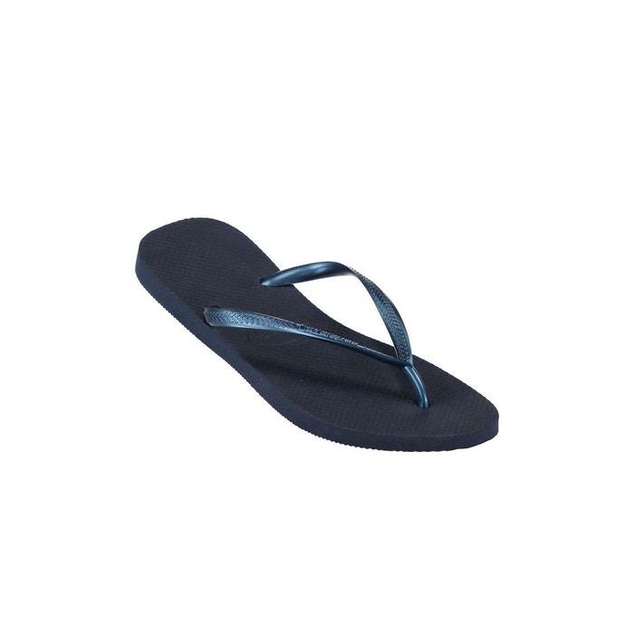 Tongs slim bleu marine Havaianas