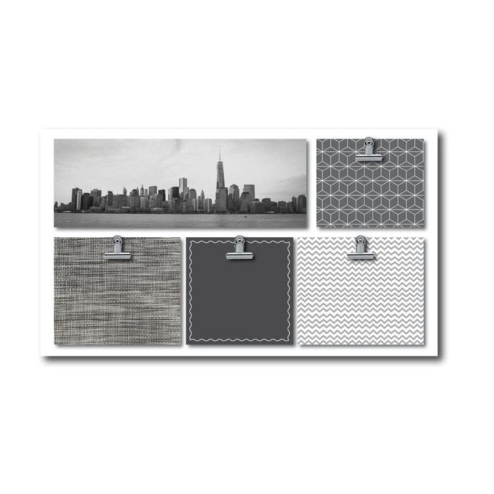cadre d co original photo city gris dimco cote deco la redoute. Black Bedroom Furniture Sets. Home Design Ideas