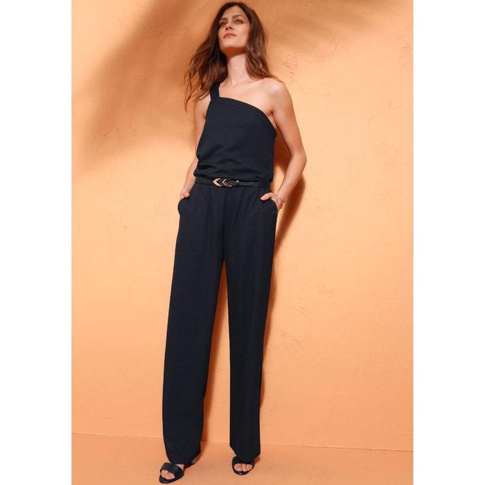 combinaison pantalon noir la redoute collections la redoute. Black Bedroom Furniture Sets. Home Design Ideas
