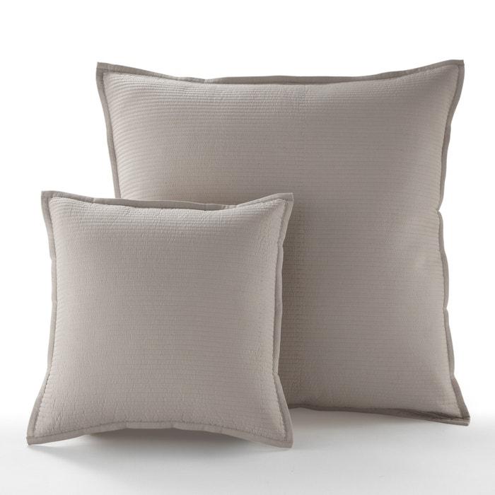 housse de coussin ou d oreiller betta la redoute interieurs la redoute. Black Bedroom Furniture Sets. Home Design Ideas