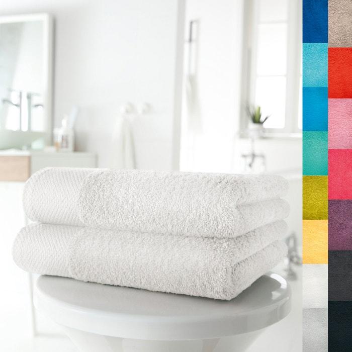 Lote de 2 toalhas em puro algodão 420 g/m² SCENARIO