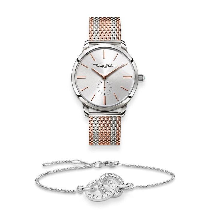 Thomas Sabo Montre Pour Femme Glam Spirit Avec Bracelet Together