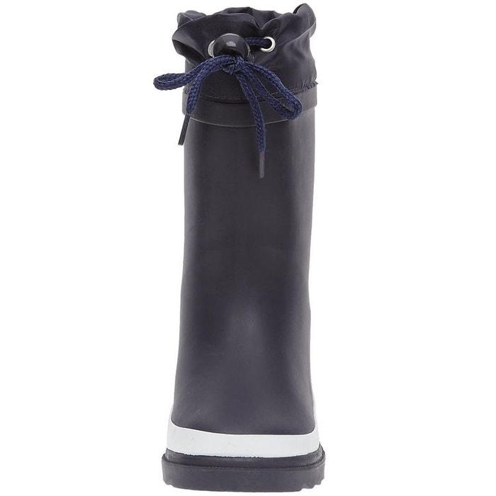 de9b7fc91ef78 Bottines   boots fourré bleu Be Only   La Redoute