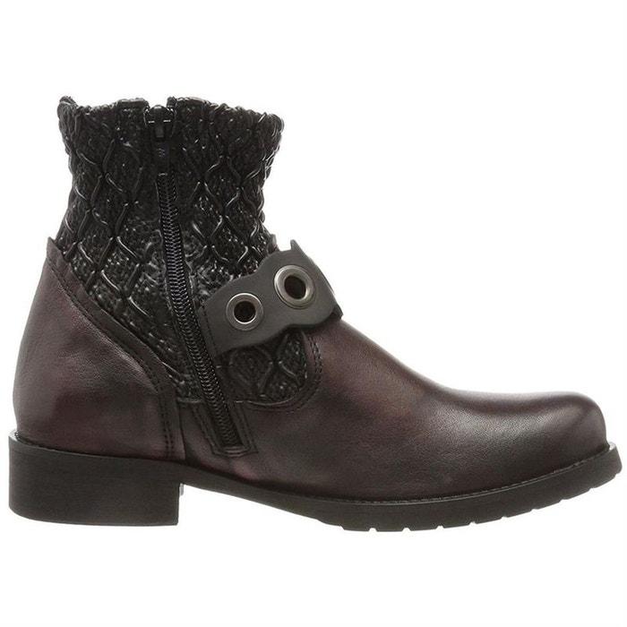 mode de premier ordre en soldes belle et charmante bottines / boots cuir