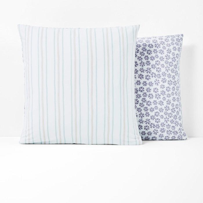 Saumane Single Printed Pillowcase  La Redoute Interieurs image 0
