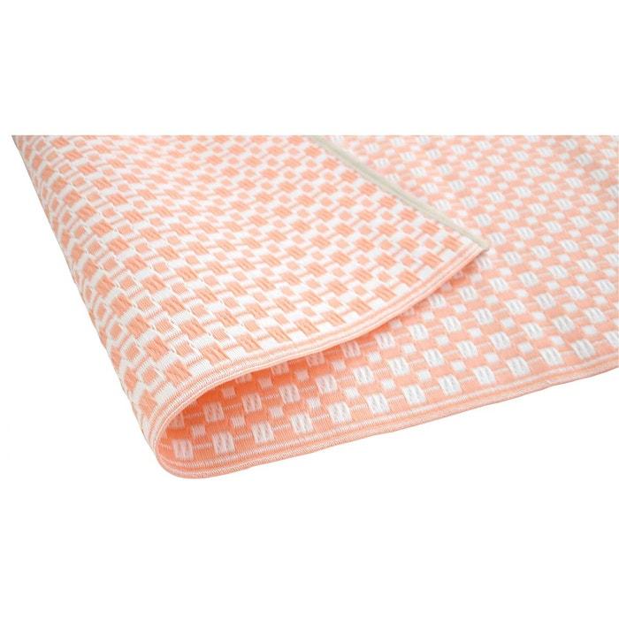 tapis ext rieur et int rieur rose et blanc 180 x 270 cm. Black Bedroom Furniture Sets. Home Design Ideas
