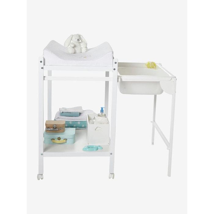 table langer avec baignoire int gr e magictub blanc. Black Bedroom Furniture Sets. Home Design Ideas