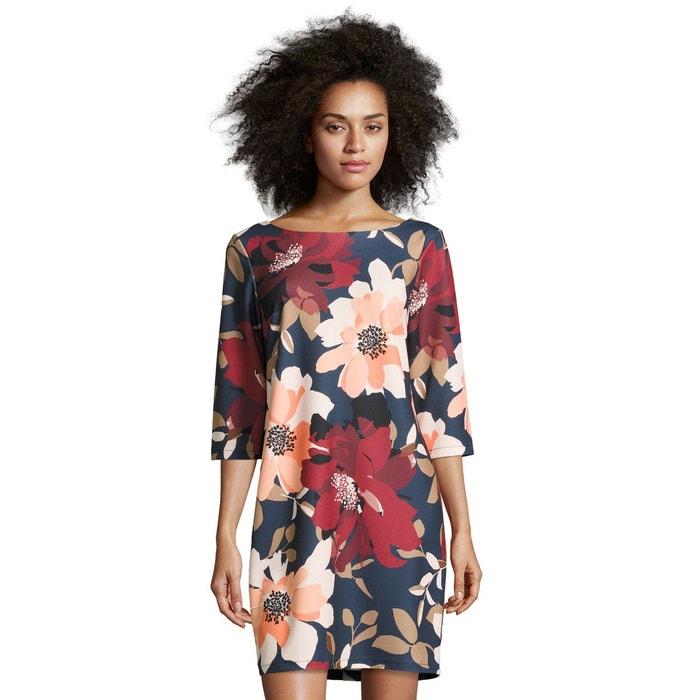 robe avec imprime fleuri tendance dark blue orange bleu With chambre bébé design avec tunique femme imprimé fleuri