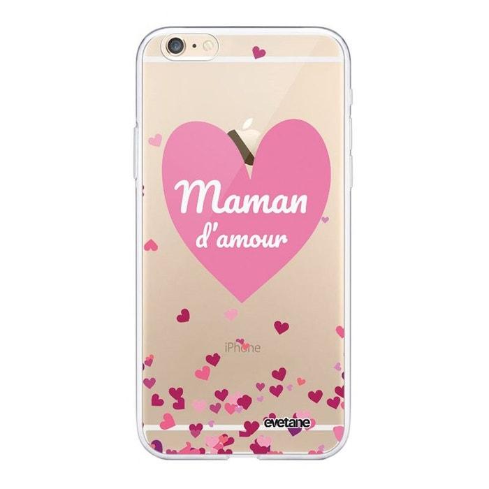 Coque iPhone 11 Pro Max 360 intégrale transparente Coeur Maman D'amour Ecriture Tendance Design Evetane.