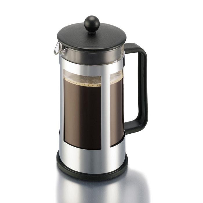 Cafetière à piston Kenya BODUM, 8 tasses, 1,0l avec 2 verres
