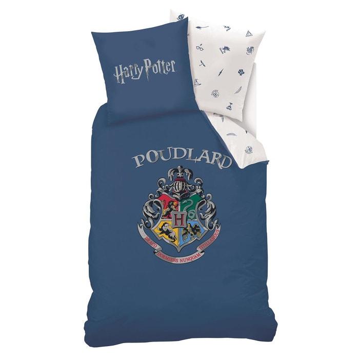 Parure Enfant Harry Potter Imprime Bleu Harry Potter La Redoute