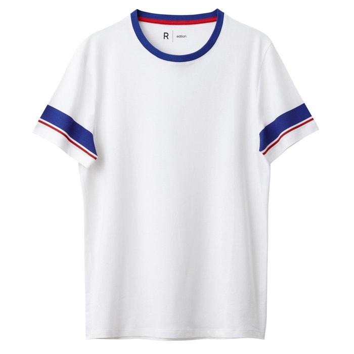 Image T-shirt fantasia righe alle maniche Oeko Tex La Redoute Collections