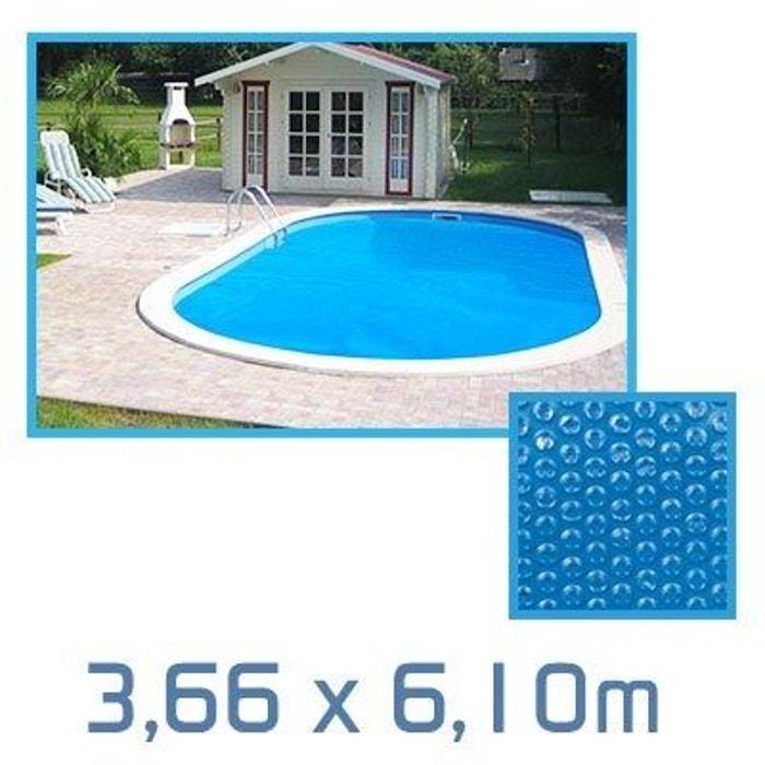 b che bulle ovale 3 10 x 3 66m 180 microns pour piscine. Black Bedroom Furniture Sets. Home Design Ideas