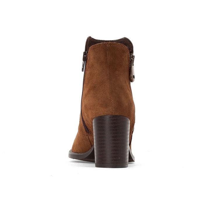 Boots cuir à talon titou noir Jonak | La Redoute