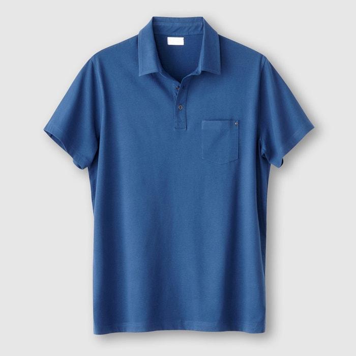 Image Polo tinta unita jersey puro cotone CASTALUNA FOR MEN