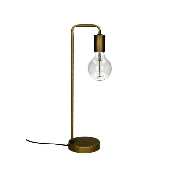 jay lampe poser en m tal laiton pomax la redoute. Black Bedroom Furniture Sets. Home Design Ideas