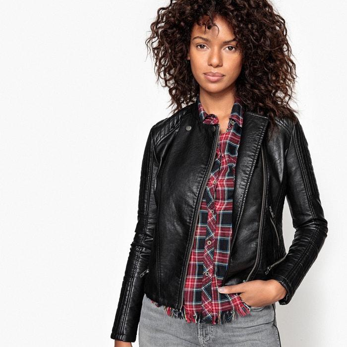 Marian Faux Leather Biker Jacket  PEPE JEANS image 0
