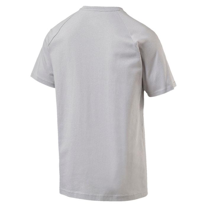 PUMA cuello redondo corta lisa manga Mercedes Camiseta de con aYaqUH