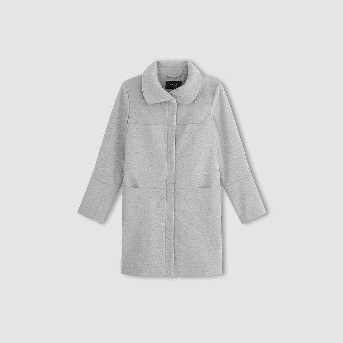 Image VIMARRY COAT A-Line Shawl Collar Coat VILA