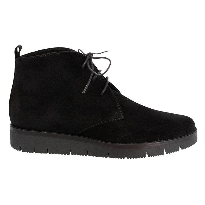 Chaussures a lacets asoul 334 noir Elizabeth Stuart