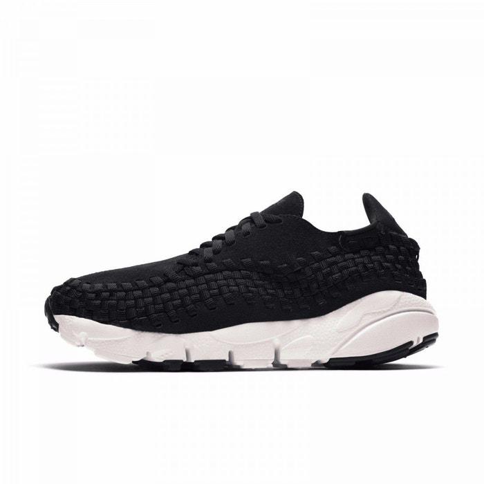Basket air footscape woven  noir Nike  La Redoute
