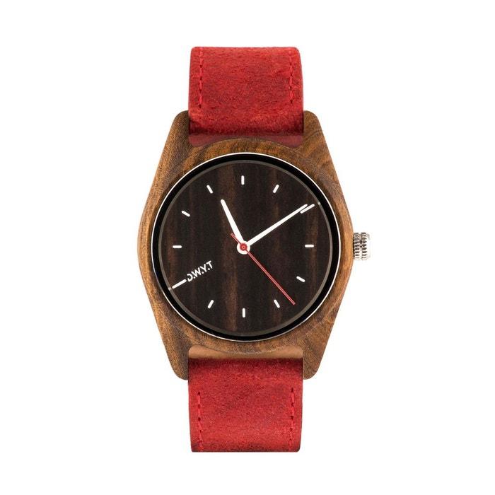 Montre en bois gola bracelet cuir D.W.Y.T Watch | La Redoute Vente Pas Cher De Nombreux Types De Jeu Combien 2ruoFl03
