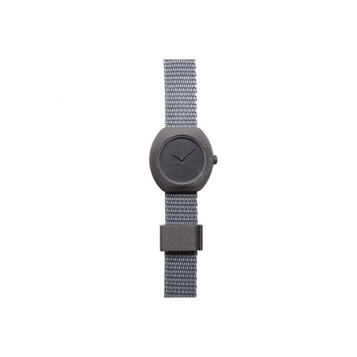 Montre en impression 3d plastique recyclable et poudre de carbone, bracelet polyester carbone .Step | La Redoute
