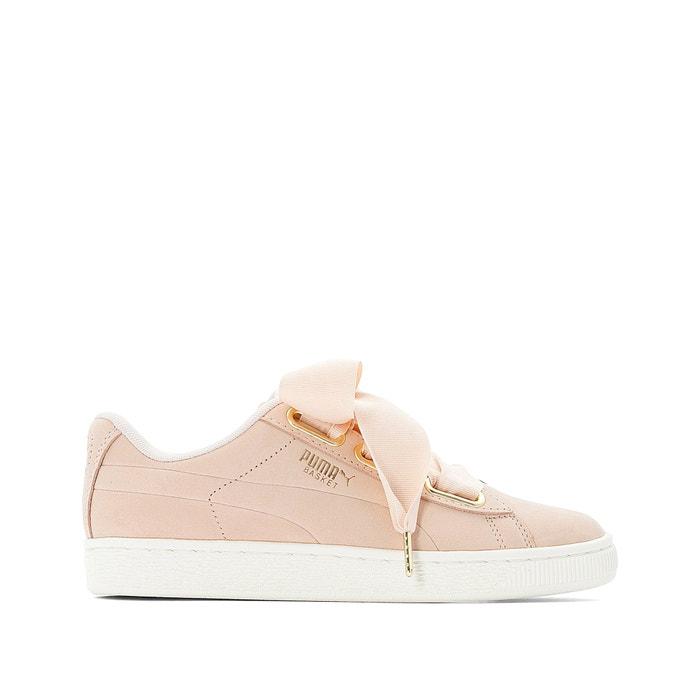 Heart soft trainers pink Puma | La Redoute