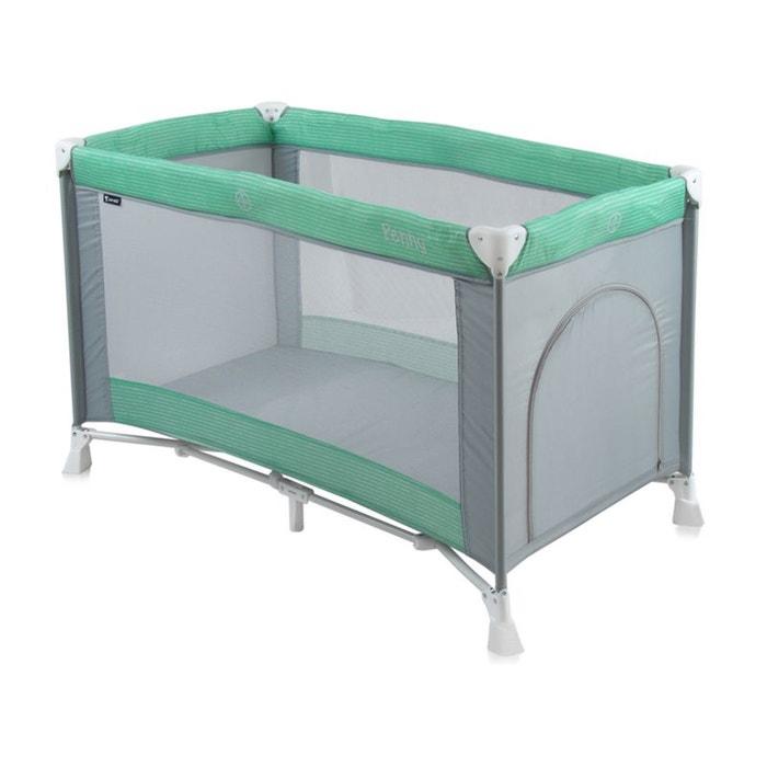 lit parapluie b b lit pliant penny 1 vert couleur unique lorelli la redoute. Black Bedroom Furniture Sets. Home Design Ideas