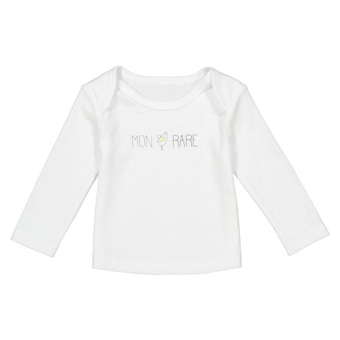 T-shirt messaggio davanti 0 mesi - 2 anni, Oeko Tex  La Redoute Collections image 0